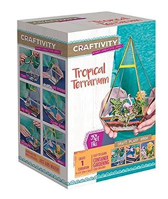 CRAFTIVITY Tropical Terrarium Kit - Craft Kits for Teens