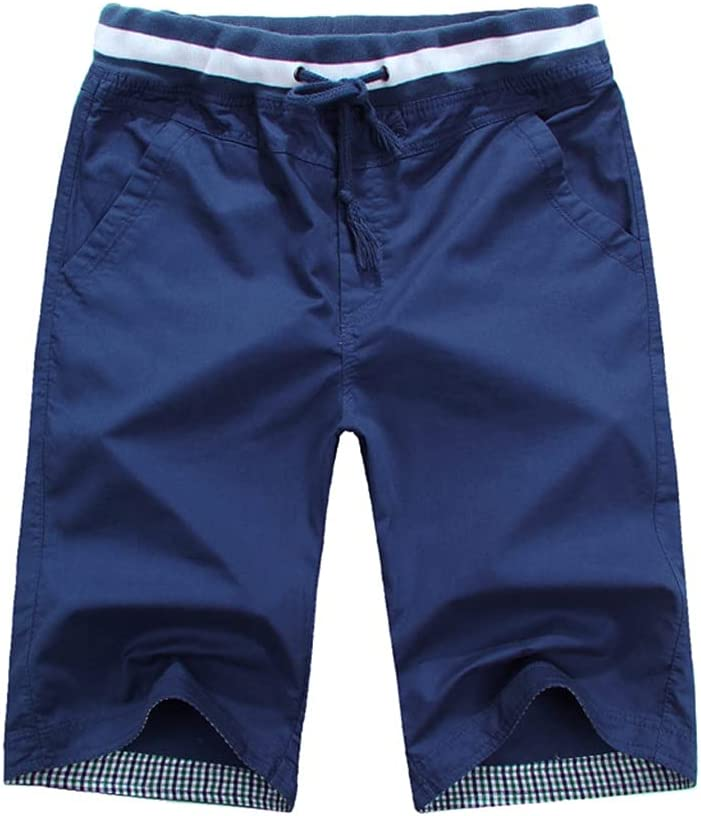Max 53% OFF FENXIXI Summer Manufacturer regenerated product Solid Color Casual Men Beach Fashion Shorts Loose