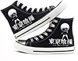ADIS Tokyo Ghoul Cosplay Cos Zapatos de lona cómodos zapatos casuales para hombres y mujeres de dibujos animados universitarios-C_5.5UK
