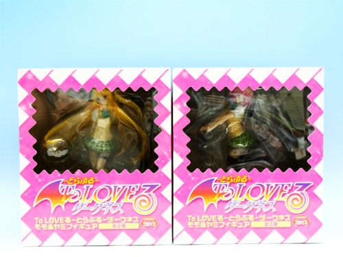 ( To LOVE) trouble Darkness peach & Darkness figure (all set of 2) trouble figure (japan import)