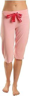 tasc performance Women's Serenity Pajama Ultra Soft Sleep Capri Pant