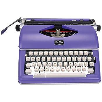 Royal 79119q Classic Manual Typewriter  purple