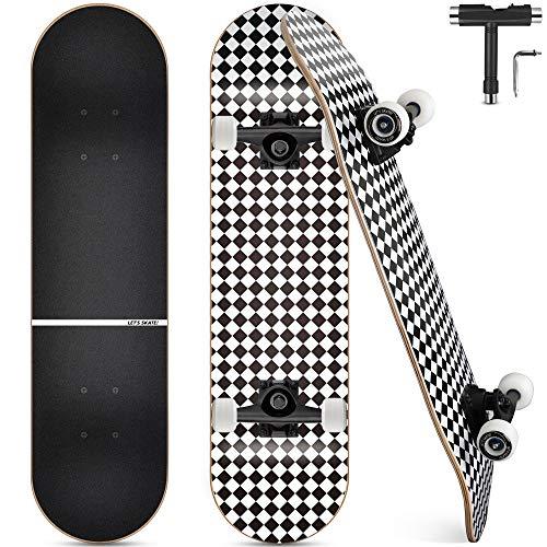 Skateboard Completo, Funxim Tabla de Skateboard 31 x 8...