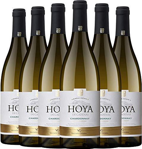 Hoya de Cadenas Reserva Chardonnay Vino Blanco D.O. Utiel Requena - 750 ml