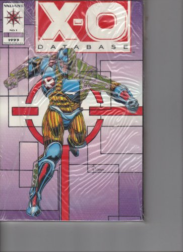 X-O ManOWar Retribution Trade Paperback with X-O Database #1