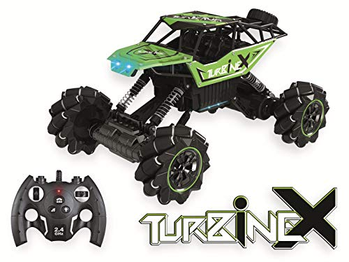 df Models No. 1570 TurbineX total verrückte RC-Car mit Demo Tanz-Stunt-Modus