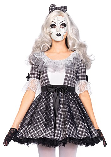Leg Avenue 85511 - Pretty Porcelain Doll Kostüm, Größe Medium (EUR 38)