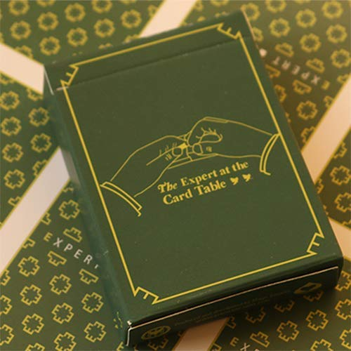 Mazzo di carte Limited Edition The Expert at the Card Table (Green) Playing Cards