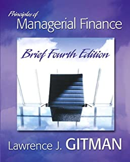 Principles of Managerial Finance Brief plus MyFinanceLab Student Access Kit