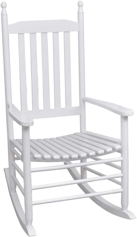 Wooden Garden Rocking Tucson Mall Chair Outdoor Patio fo Lounge Chairs Deck Max 65% OFF