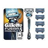 Gillette Fusion5 Proshield Chill Rasoir Homme + 6 Lames de Rasoir [OFFICIEL]