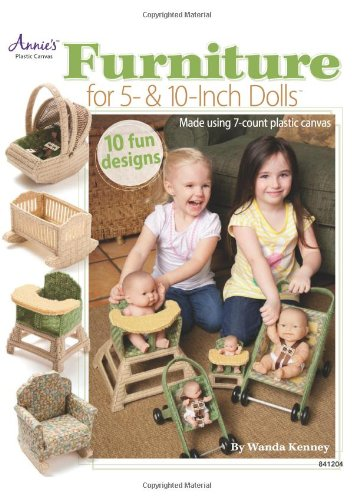 Furniture for 5- & 10-Inch Dolls