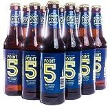 Point 5 Brewing Non-Alcoholic Beer - Tastes Like A True Pilsner Beer - 12 fl oz Bottles (12 Pack)