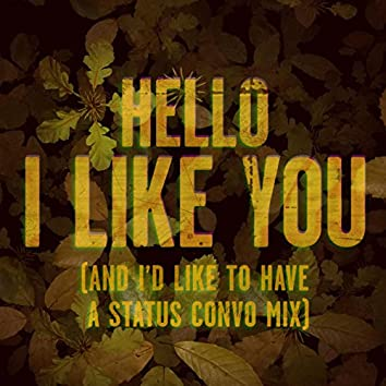 Hello, I Like You (And I'd Like to Have a Status Convo Mix)
