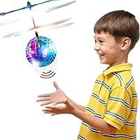 Blasland Palla Volante, Giocattoli per Bambini Mini Drone Elicottero Telecomandato Aereo RC con Luci LED Gadget Compleanno Regali Ragazzi Ragazze 8 9 10 11 12 Anni Giochi da Giardino Interno Esterno #2