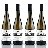 Pack Vinos Blancos Tarabilla y Gallipato de 75 cl cada uno - D.O. Tierra de Cadiz - Bodegas Delgado Zuleta (Pack de 4 botellas)