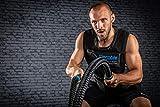 Blackthorn Battle Rope 35d/15m – Schwungseil, Trainingsseil,Fitness Tau, Sportseil - 7
