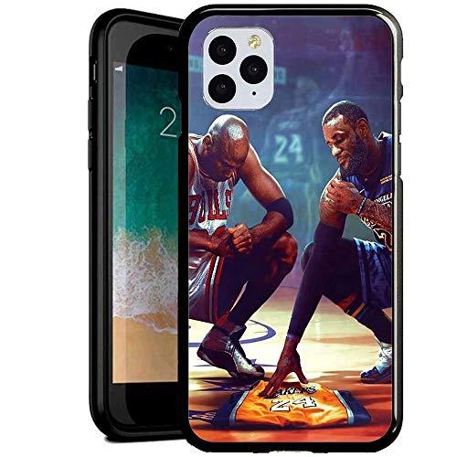 Compatible con iPhone 6 Plus/6s Plus Funda, Carcasa con patrón Diseño Bordes en Suave TPU Silicona Híbrida Tempered Vidrio para iPhone 6S Plus/iPhone 6 Plus (ERER1000008)