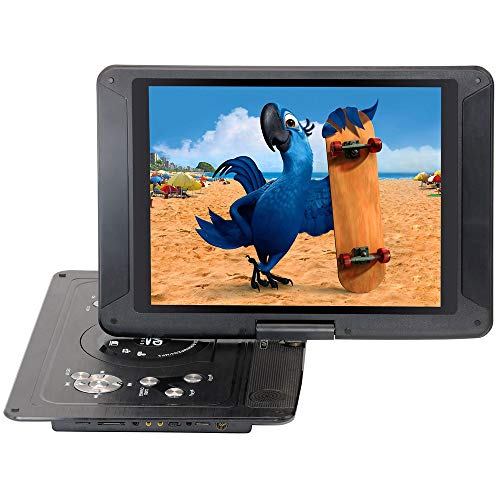 Review WMWHALE 14.1 Portable DVD Player, High-Brightness 270° Swivel Screen, Supports All Region, ...