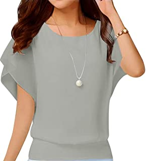 Best gray dressy blouse Reviews