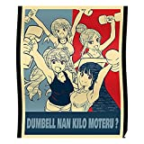 Lewd are Powerlifting Workout How Lift Material Kawaii Anime Heavy Dumbbell Moteru Top Girls Kilo Waifu Dumbbells Hentai 2020 Best Nan Manga Trend You The Best Wall Art for Home Decoration