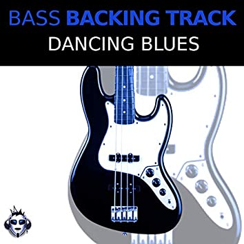 Dancing Blues Top One Bass Backing Track, D minor