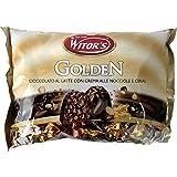 Witor's Praline Golden 1000g Beutel (Milchschokolade mit Haselnuss-Creme und Cerealien)