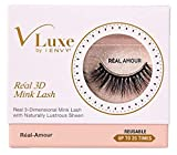 Kiss Vluxe Real 3D Mink Lashes Real Amour (3 Pack)