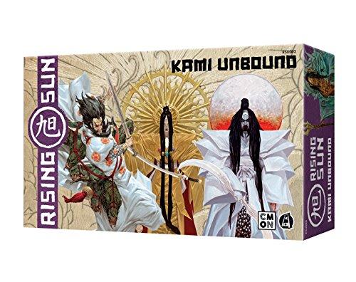 Preisvergleich Produktbild Asmodee Rising Sun-Entfesselte Kami,  Erweiterung,  Kennerspiel,  Strategiespiel