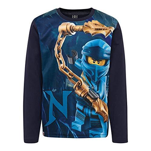 LEGO Jungen CM-50404-T Shirt L/S Langarmshirt, Blau (Dark Navy 590), (Herstellergröße: 110)