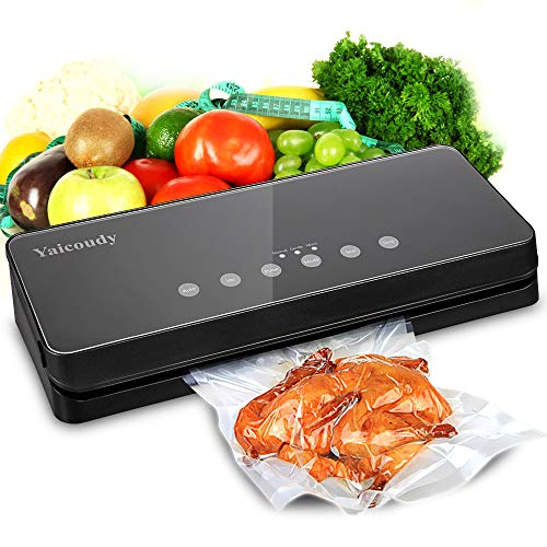 Vacuum Sealer Machine, Automatic Food Sealer Sealing System For Food Saver, Starter Kit for Sous...