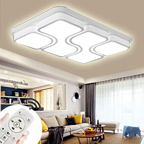 LED Modern Deckenlampe Deckenleuchte Quadrat Energiespar Wohnzimmer Schlafzimmer Korridor Acryl-Schirm Rahmen Flur Lampe Schlafzimmer Küche Energie Sparen Licht Durchbohrte Wandleucht