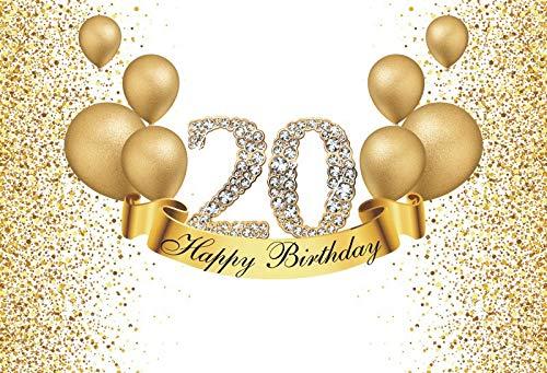 Fondo fotográfico Feliz cumpleaños Fabuloso de Las Mujeres 30 35 40 50 60th Fiesta Tacones Altos Globo Dorado Fondo de Foto Rosa A10 1.5x1m