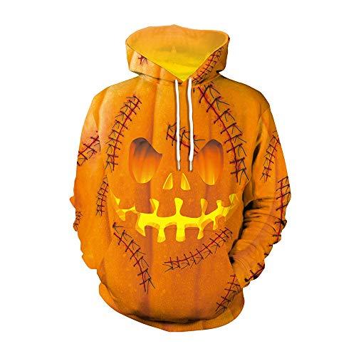 x8jdieu3 Herbst und Winter Hoodie Clown Halloween Kostüm 3D Digitaldruck Kapuzenhemd Sport große Kapuzenjacke