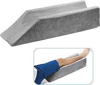 Almohada para levantar la pierna, cuña para el pie para apoyar la recuperación posoperatoria de la lesión del tobillo, estabilizador del cojín para levantar el pie