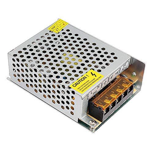 Yuquanxin Transformador de Controlador de alimentación de conmutación AC 110V-220V a DC 12V 1A 2A 3.2A 5A por DIRIGIÓ Luz de Tira Durable (Color : 5A)