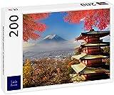 Lais Puzzle El Monte Fuji Japón en Colores de otoño 200 Piezas