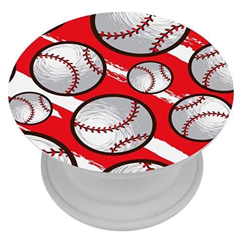 Baseball-Oberteil für Handys und Tablets, nahtloses Muster