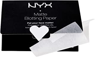 NYX Professional Makeup Matte Blotting Paper, White, 50 Count