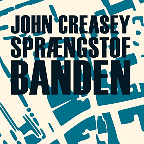 Sprængstofbanden audiobook cover art