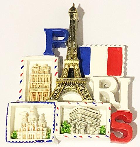 Magnet Aimant de frigo Cuisine MG133 Souvenir de France Paris Cadeaux 9X7.5 CM
