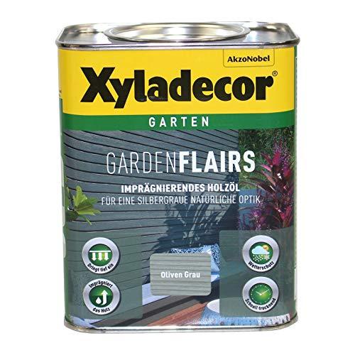 Xyladecor Garden Flairs 2,5L oliven grau Holzöl Imprägnierung Metalleffektöl