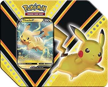 Pokemon V Powers Pikachu Tin Multicolor