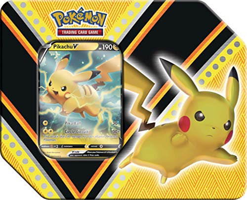 Pokemon V Powers Pikachu Tin