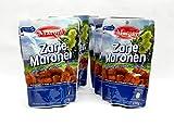 6er Pack 150g Zarte Maronen - geschälte, geröstete Esskastanien