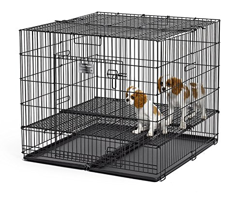 generic puppy playpens Midwest Homes Puppy Playpen Crate - 236-05 Grid & Pan Included