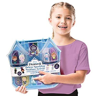 Tara Toys Disney Deluxe Frozen 2 Necklace Activity Set - Amazon Exclusive (12821)