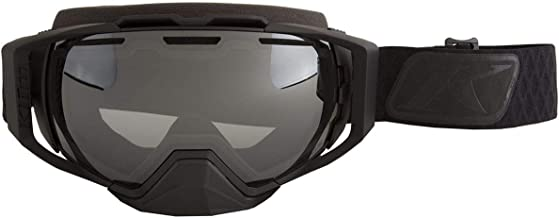 Klim Oculus Goggles (Diamond Fade/Black with Smoke Silver Mirror and Light Yellow Tint)