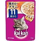 カルカン パウチ 高齢猫用 11歳から 味わいチキン 70g×16袋 (まとめ買い) [キャットフード]