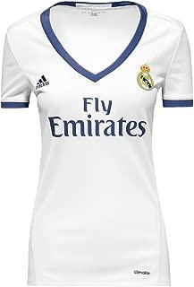 Adidas Women's Real Madrid 16/17 Home Crystal White/Raw Purple